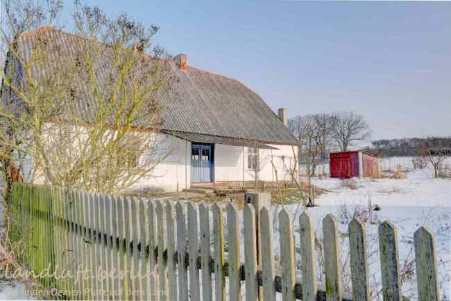 Alter Bauernhof in der Uckermark