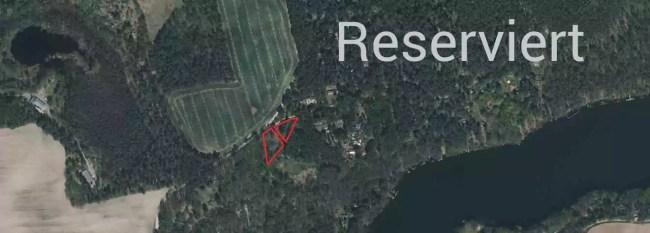 Schön gelegenes, großzügiges (1.802 m²)) Ferienhausgrundstück am Üdersee bei Finowfurt