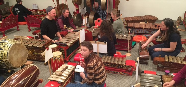 A Gamelan Experience with Venerable Showers of Beauty