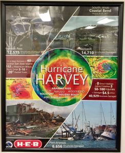 Hurricane Harvey poster