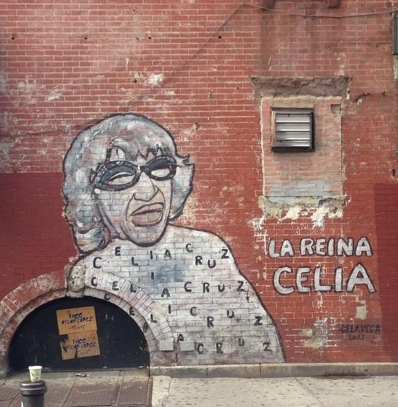Celia Cruz mural, LEH Virtual Tour, MAS Jane's Walk 2021