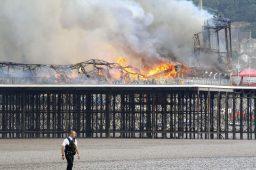 Weston-super-Mare pier fire