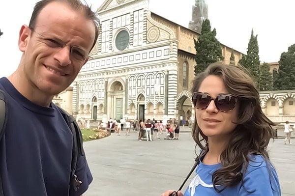 Guia Turistico Florencia LandMarks people