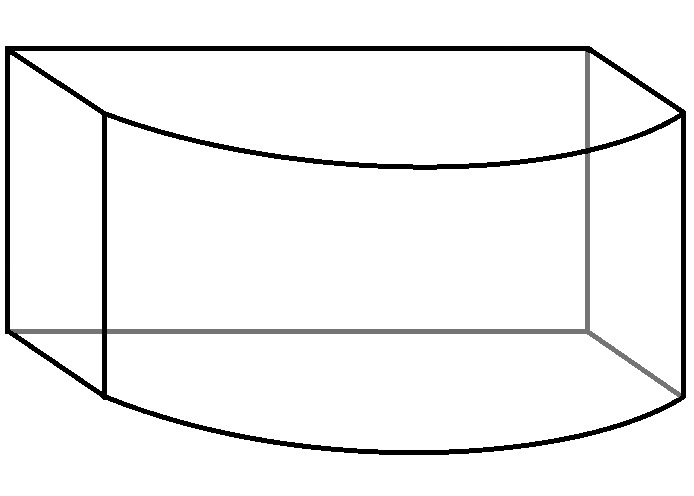 Bow Front Tank Shape