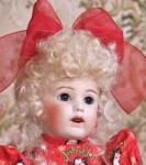 SFBJ 251 Bleuette Wearing Margie Wig in Honey Blonde