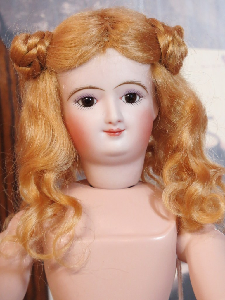 "12"" Smiling Bru Antique Reproduction Doll by Connie Zink"