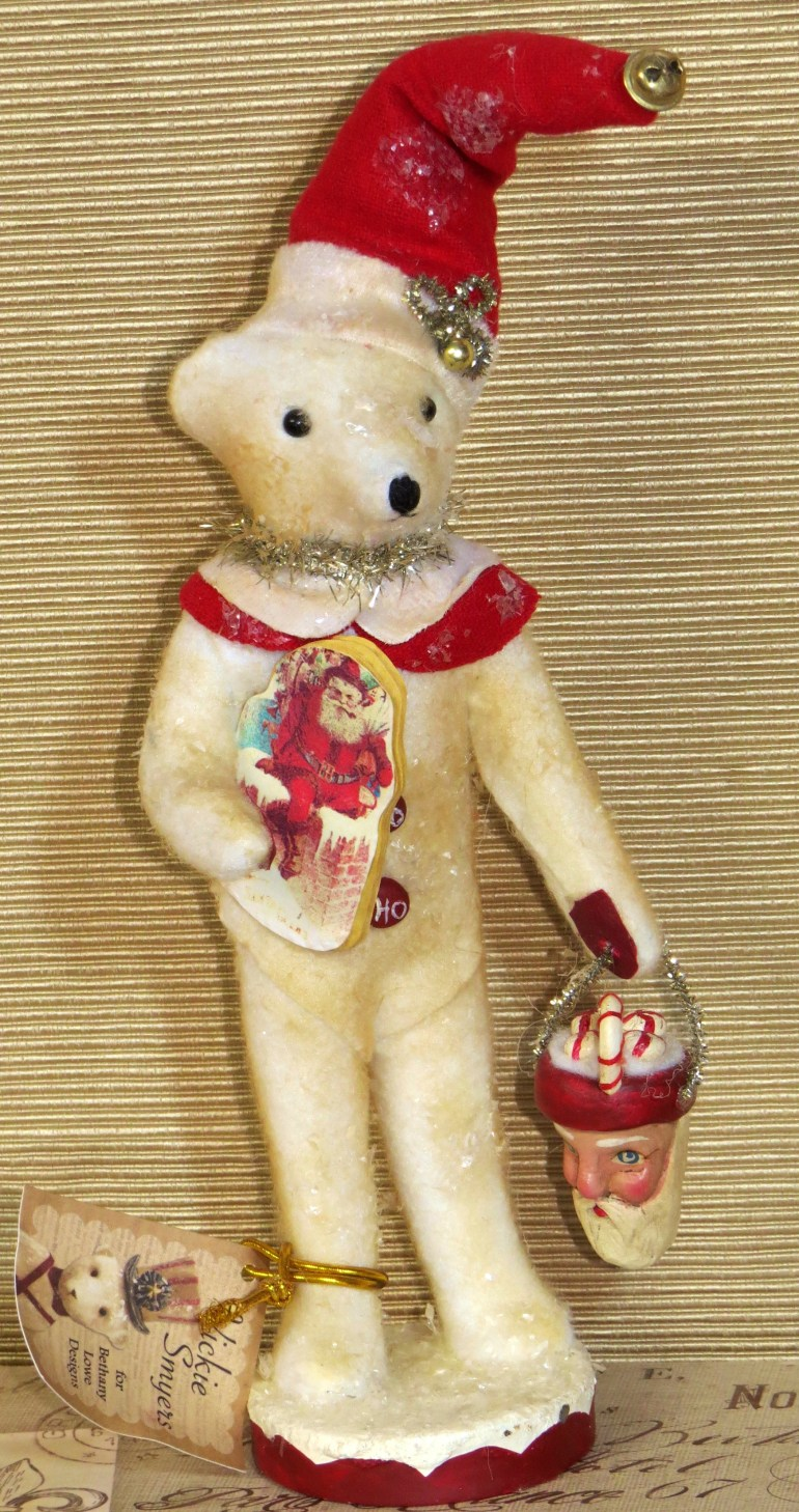 Win this teddy bear from Land of Oz Dolls