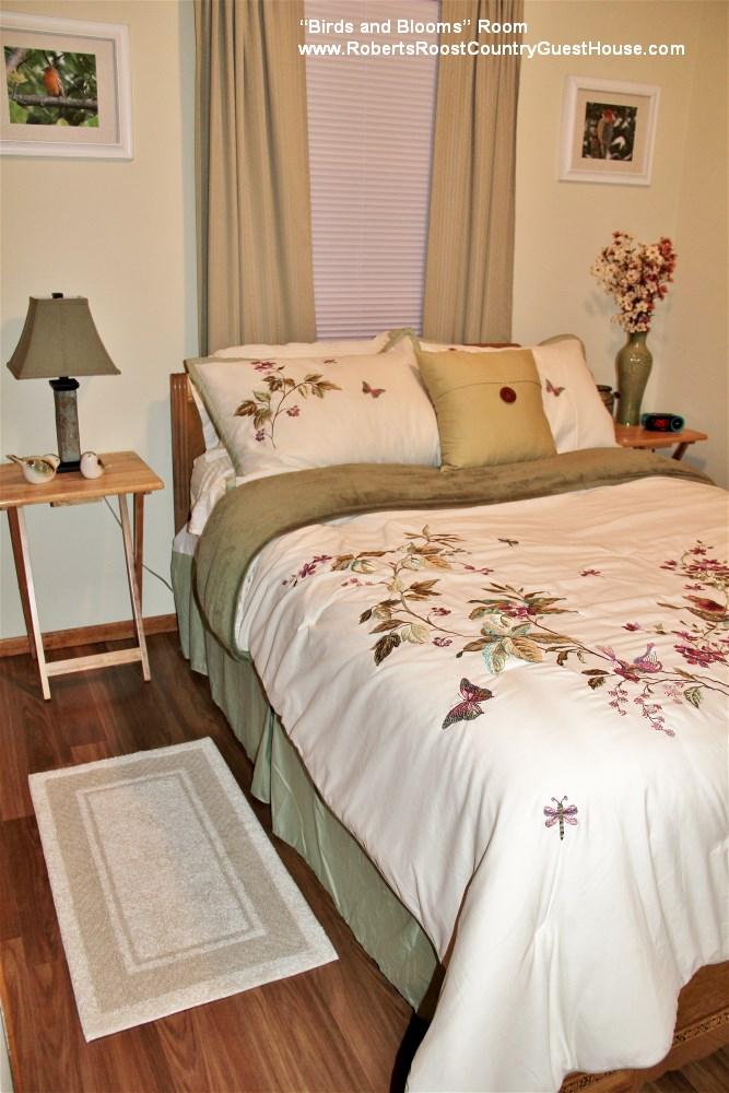 """""""Birds and Blooms"""" Bedroom"""