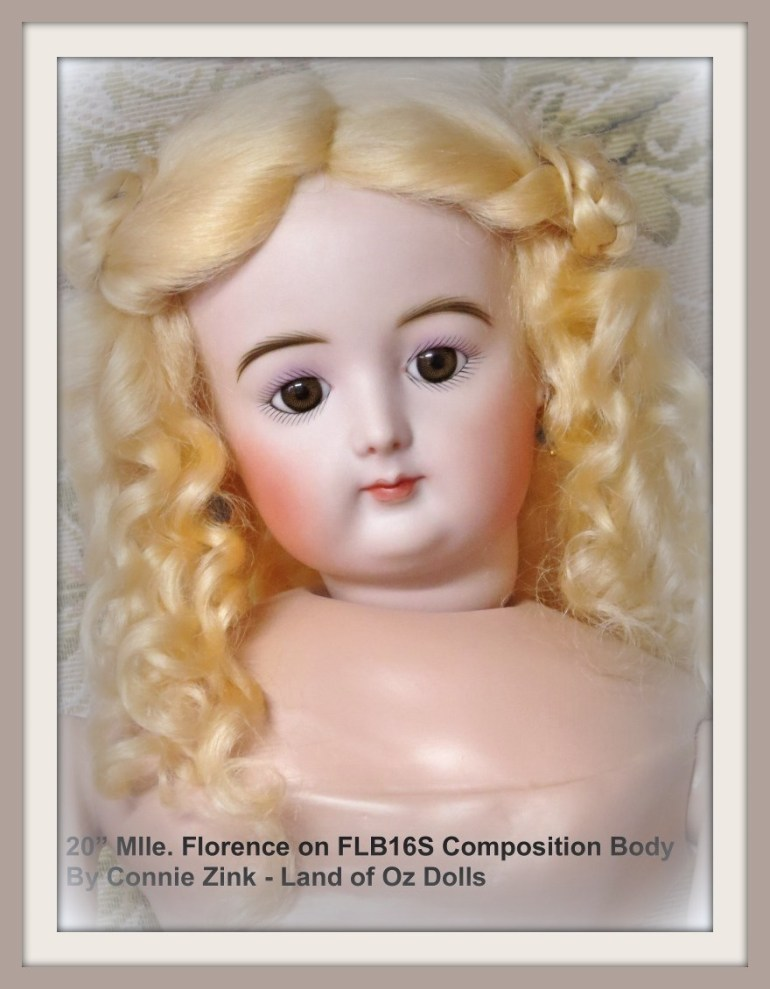 "20"" Mlle. Florence by Connie Zink"