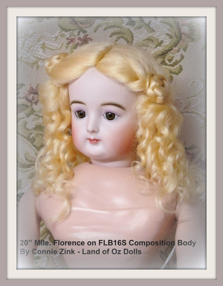 """20"""" Mlle. Florence by Connie Zink"""