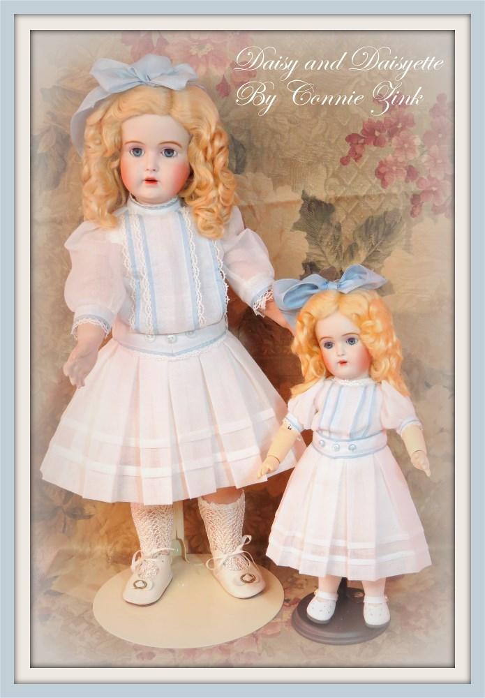 "18"" Daisy and Daisyette (Bleuette Friend)"