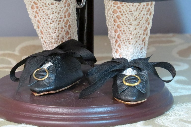 Black Leather Hand Made Shoes