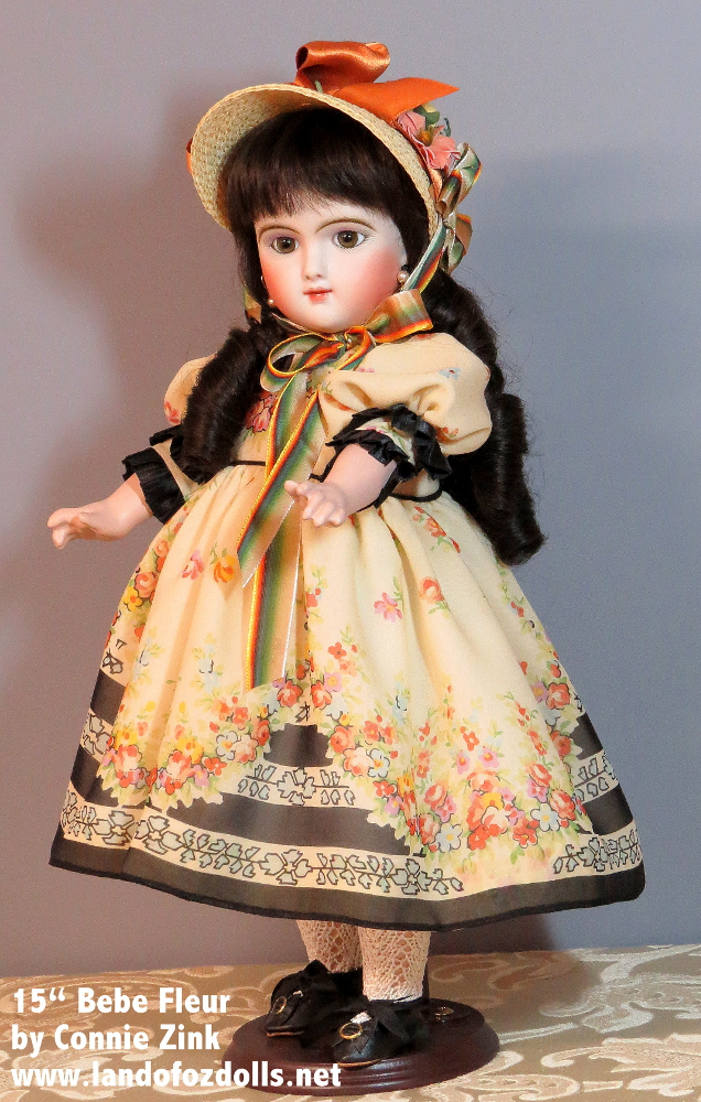 """15"""" """"Frenchette"""" Bebe Fleur by Connie Zink"""