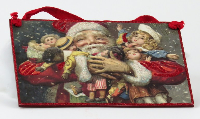 Victorian Christmas Sign