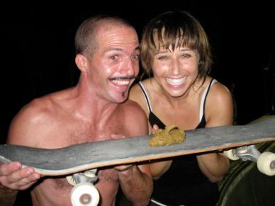 julien bergougnoux, bali skateboarding, sanur bowl, faye middleton