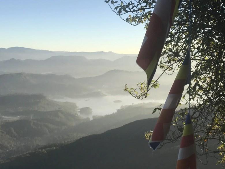 Views on the descent from Adam's Peak, Sri Lanka