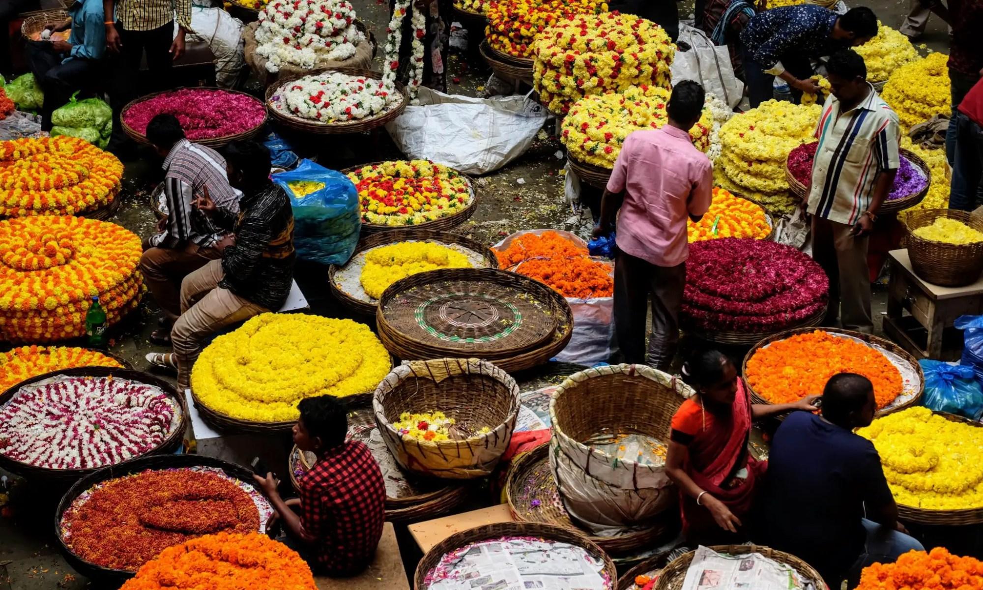 Krishna Rajendra Market, Bangalore