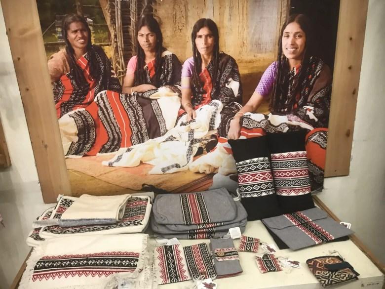 Tribal handicrafts for sale in Ooty, Tamil Nadu
