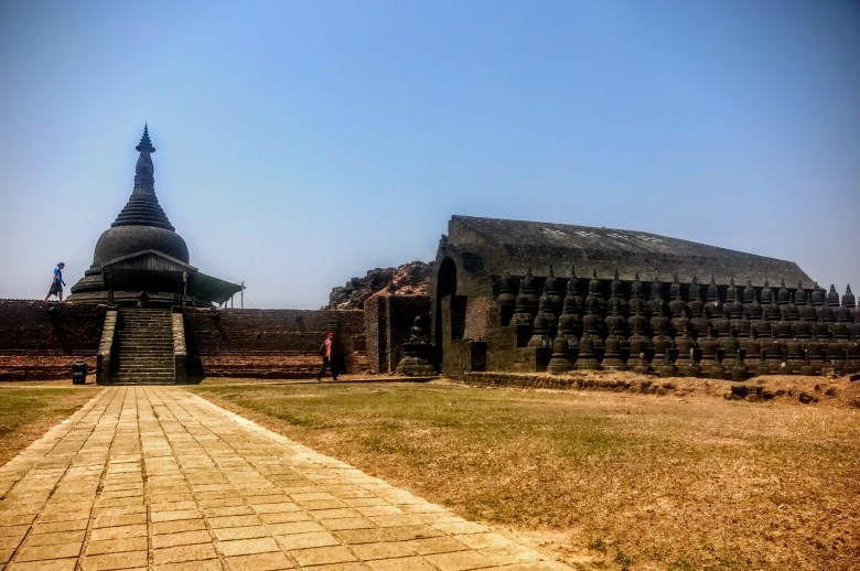 Kothaung Temple, Mrauk U, Myanmar