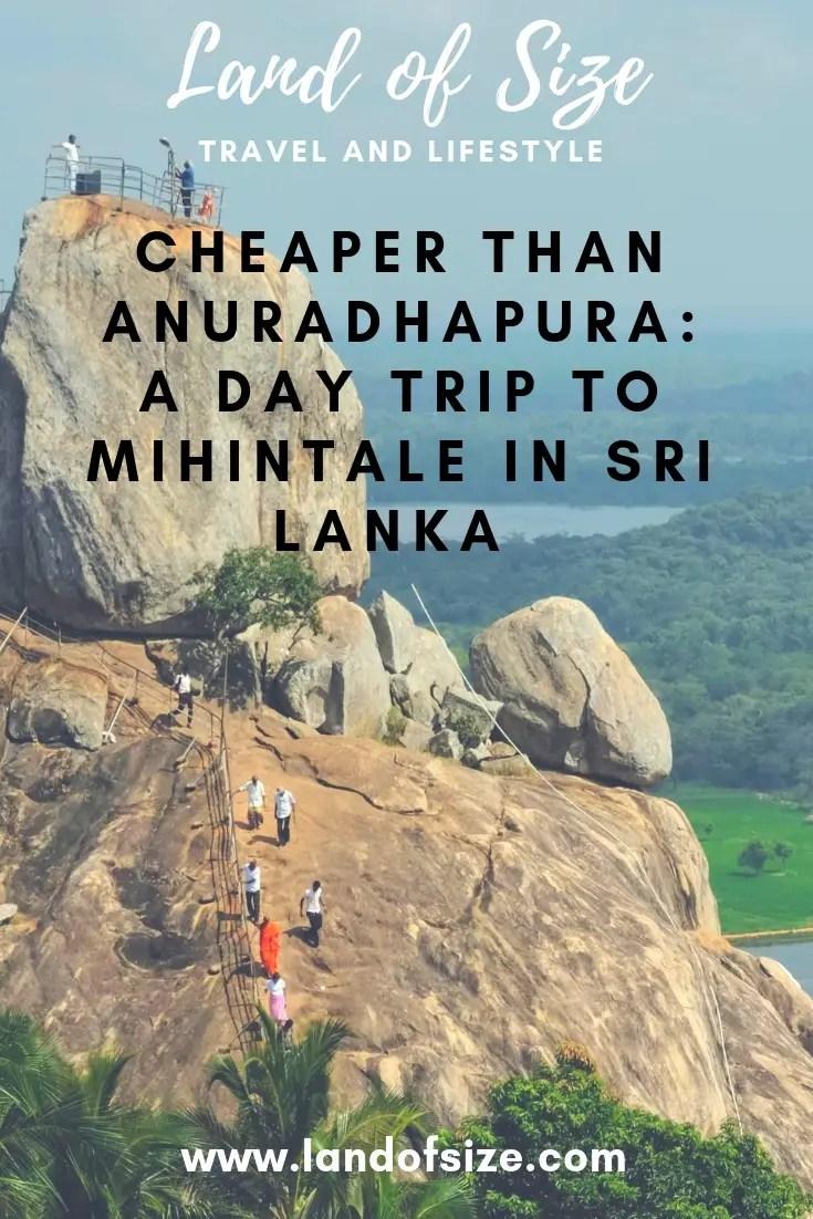 Cheaper than Anuradhapura: A day trip to Mihintale in Sri Lanka