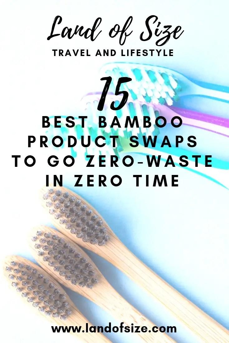 15 best bamboo product swaps to go zero-waste in zero time