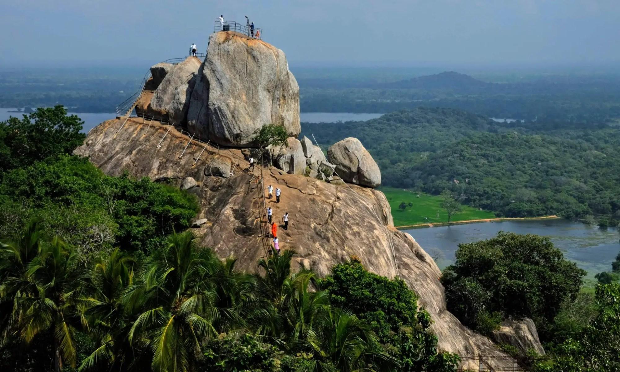 Aradhana Gala, Mihintale Rock, Sri Lanka