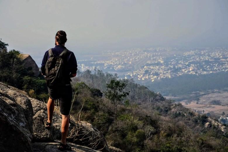View from Chamundi Hills, Mysore/Mysuru South India