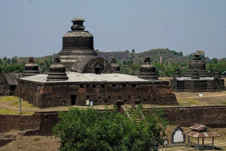 Htukkanthein Temple, Mrauk U, Myanmar