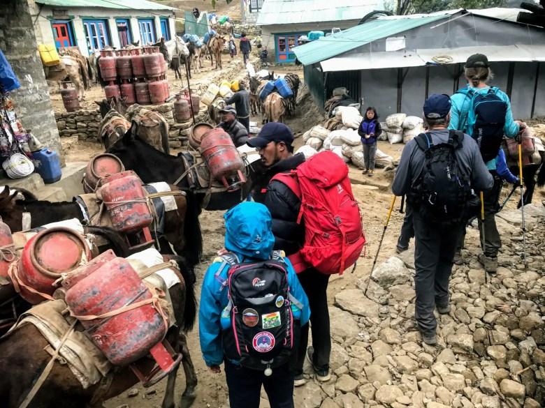 Namche Bazaar, EBC trek, Nepal