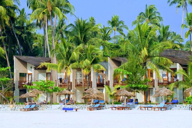 Hotel at Ngapali Beach, Myanmar