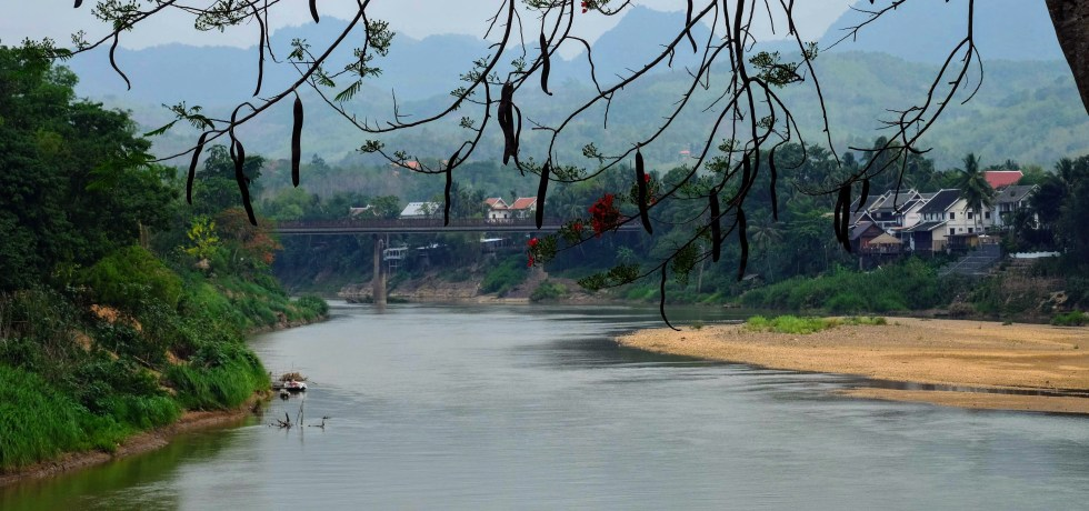 River in Luang Prabang, Laos