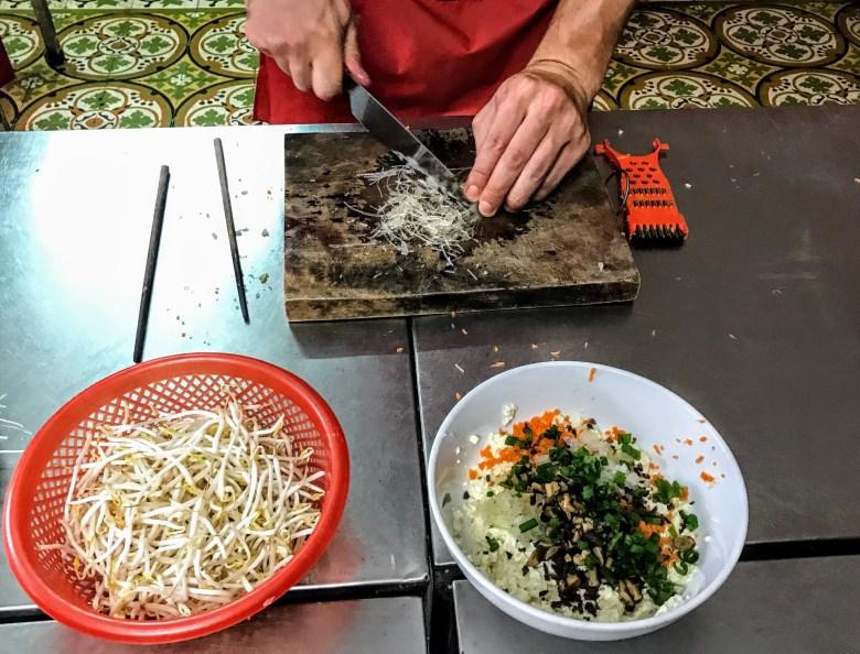 Making tofu balls, Hanoi, Vietnam
