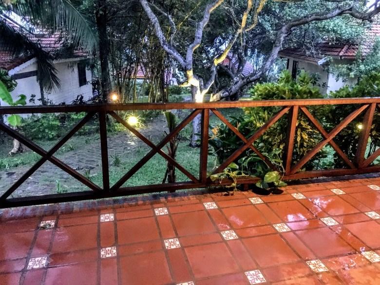 Wet terrace in Phu Quoc island, Vietnam