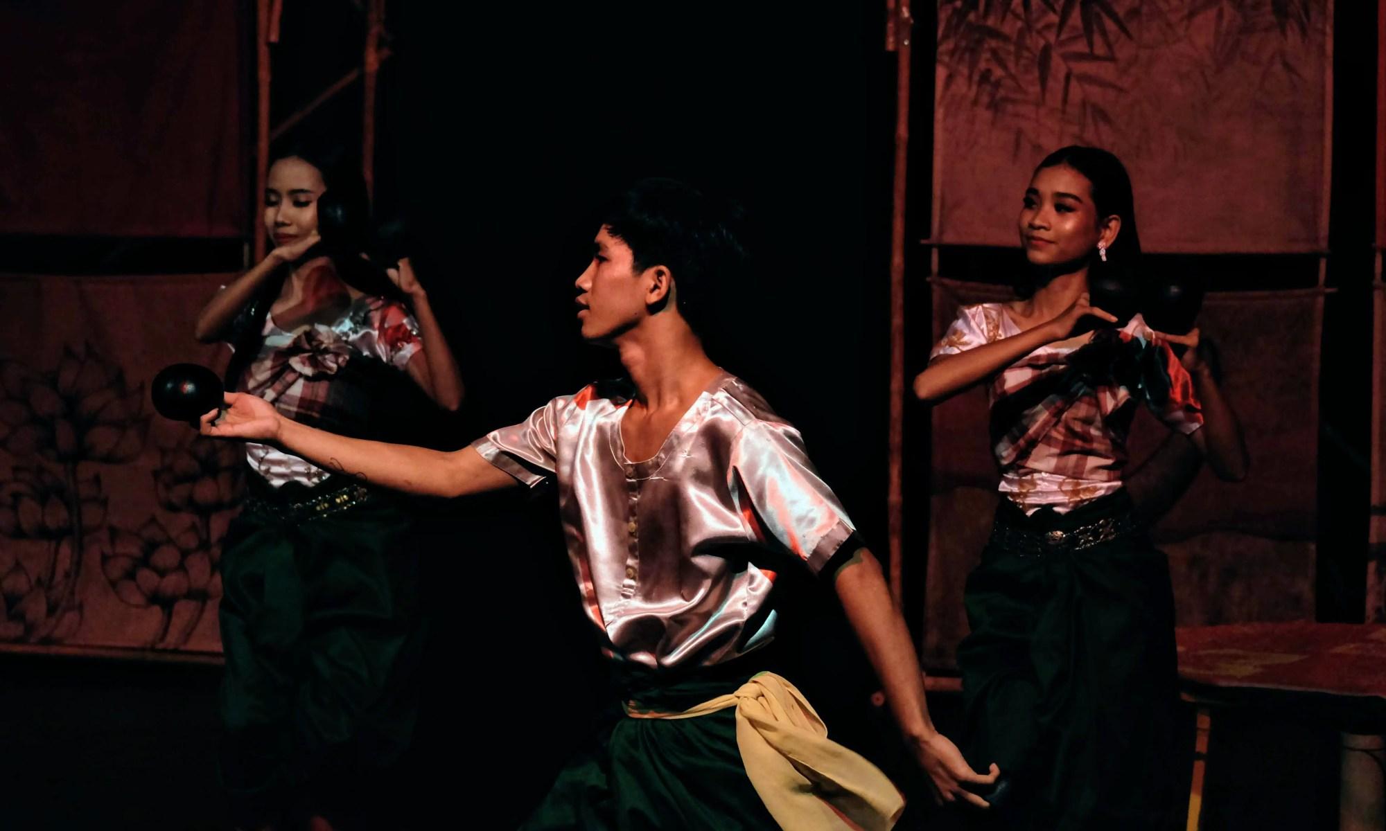 Performers at Phare Circus, Battambang, Cambodia