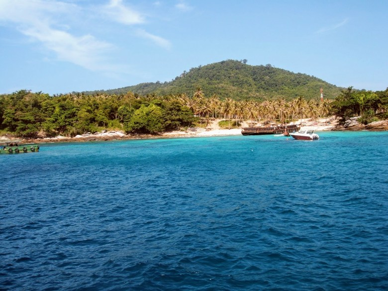 Koh Racha Yai where I went diving off Phuket, Thailand