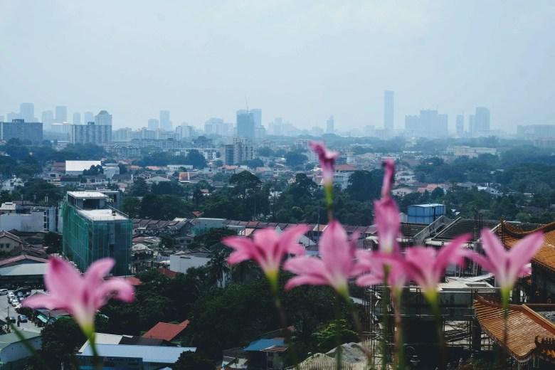 View from Kek Lok Si Temple, Penang, Malaysia