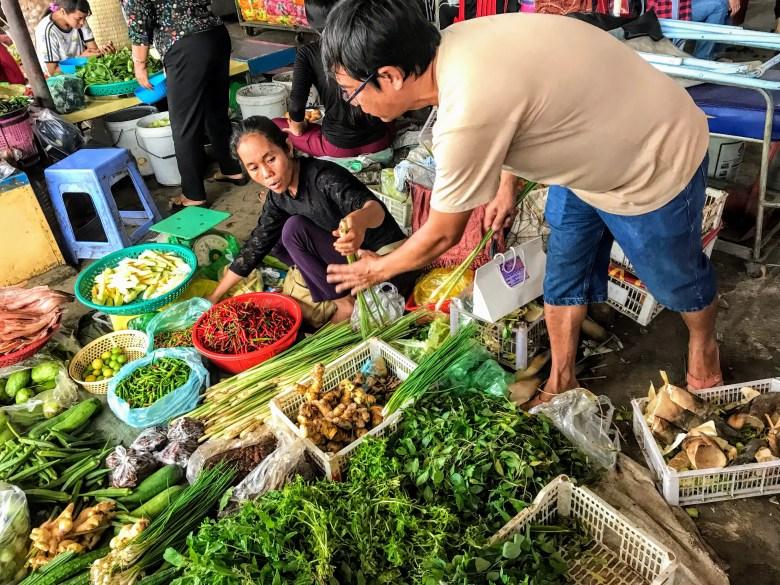 Battambang market, Cambodia