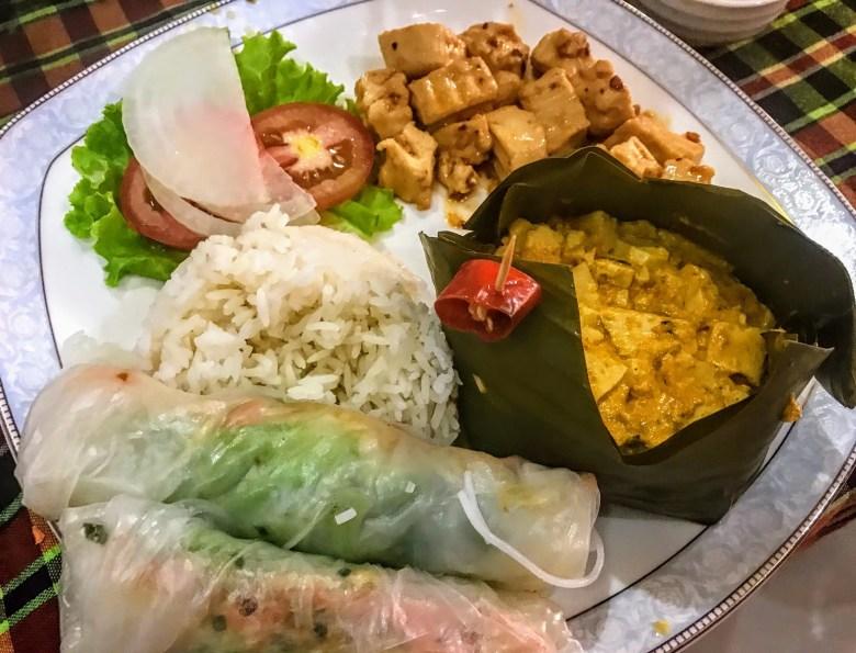 Traditional Cambodian food, Battambang, Cambodia