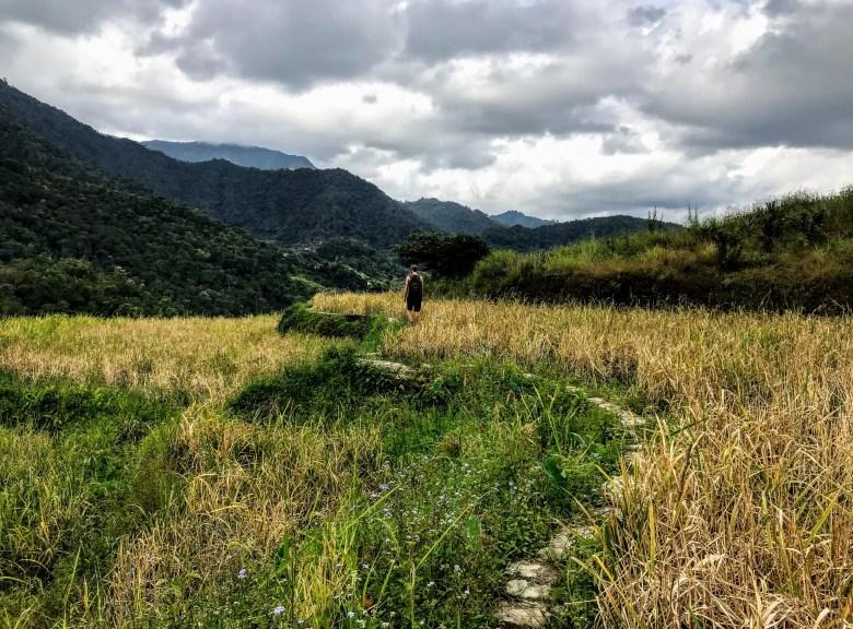 Walking to Poitan, Banaue, Philippines