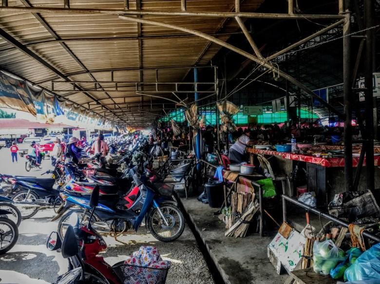 Xam Neua market, Laos