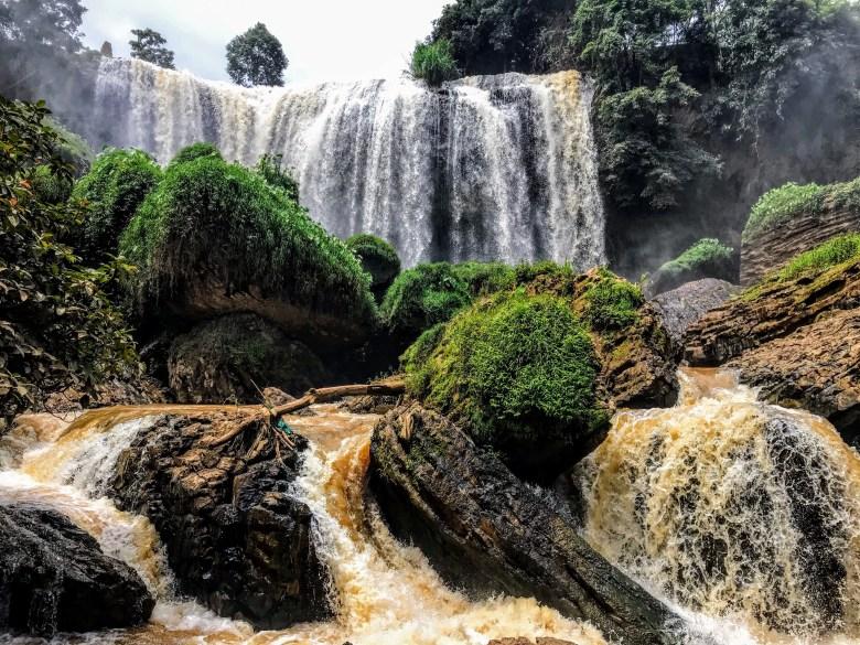 Elephant waterfall, Da Lat, Vietnam