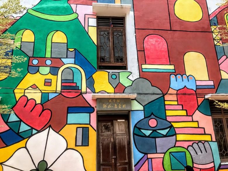 Street mural, Melaka, Malaysia