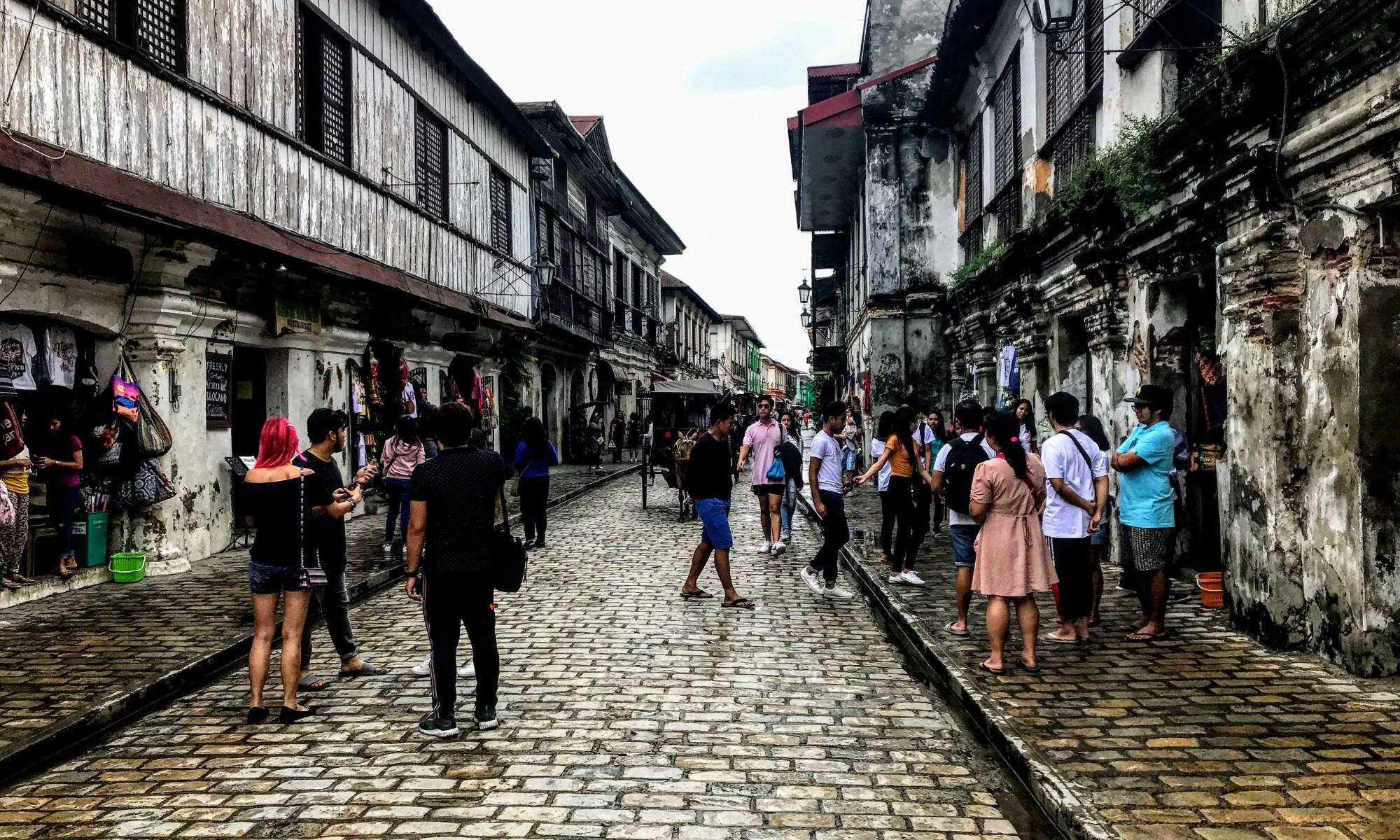 Calle Crisologo, Vigan, Philippines