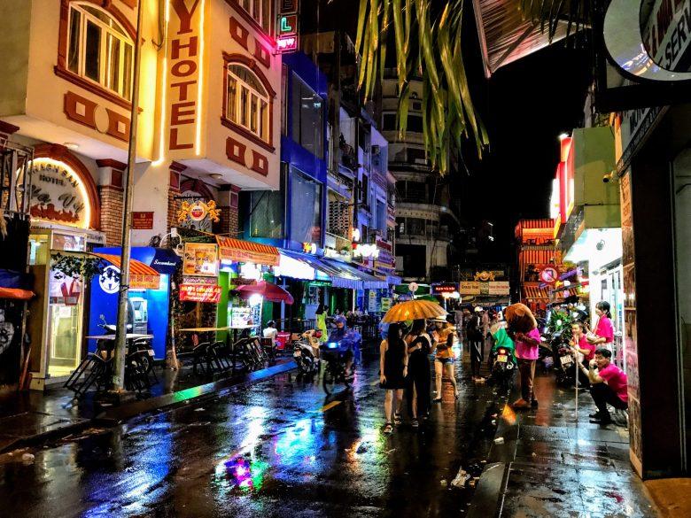 Bui Vien Street, Ho Chi Minh City, Vietnam