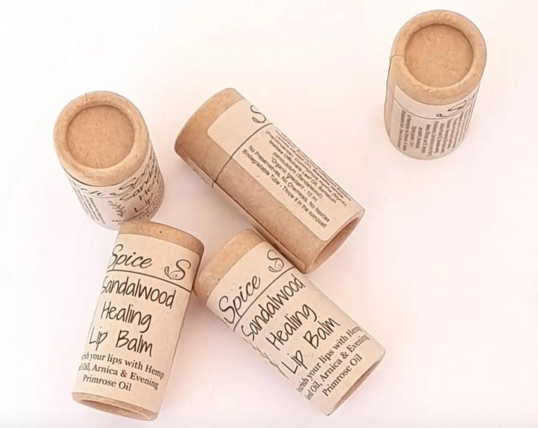 Sandalwood lip balm, SixthSpice