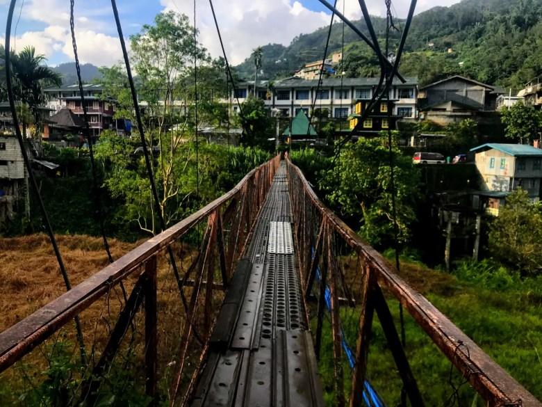 Suspension bridge, Banaue, Philippines