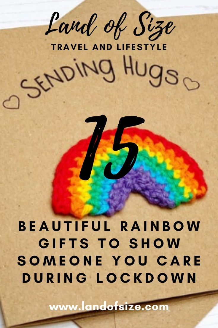 15 beautiful rainbow gifts to show someone you care during lockdown