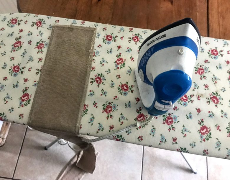 Ironing pattern pieces