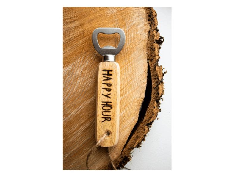 Engraved bottle opener, Etsy