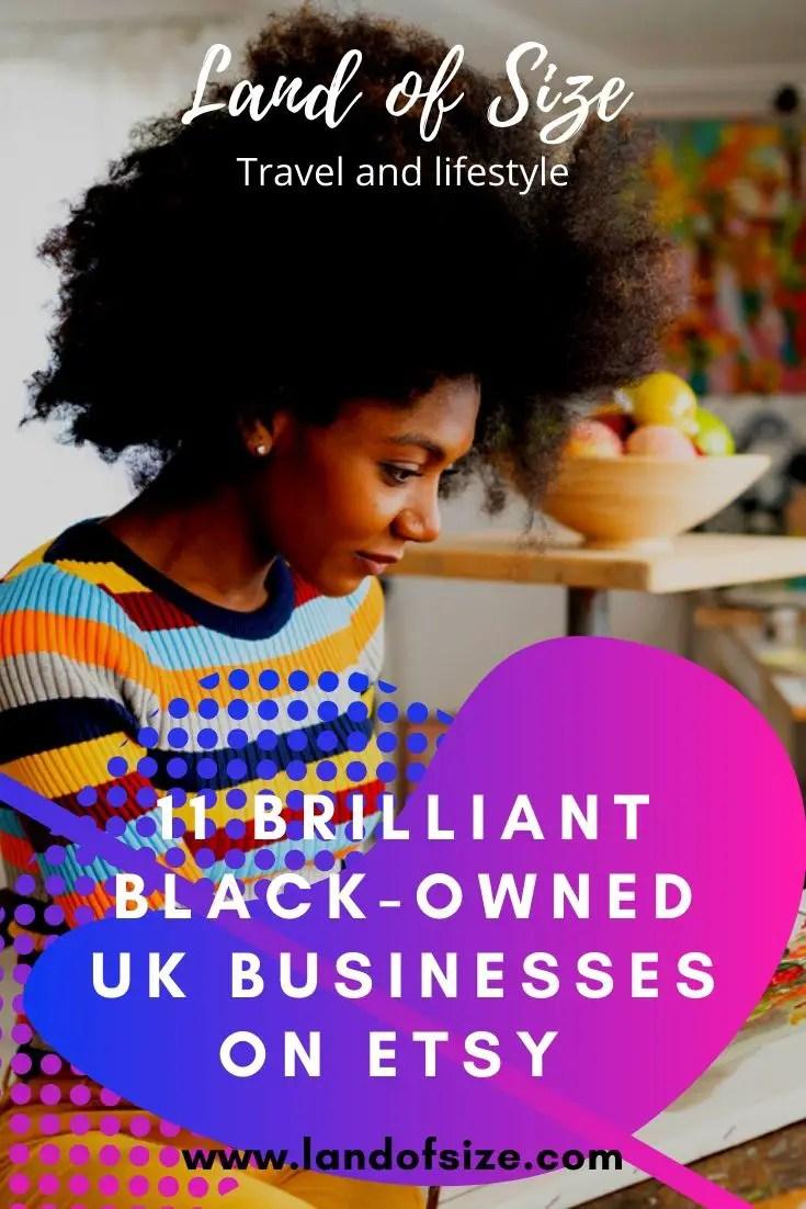 11 brilliant black-owned UK businesses on Etsy
